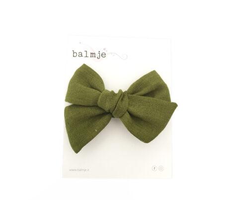 fiocco_chloe_grande_verde_balmje