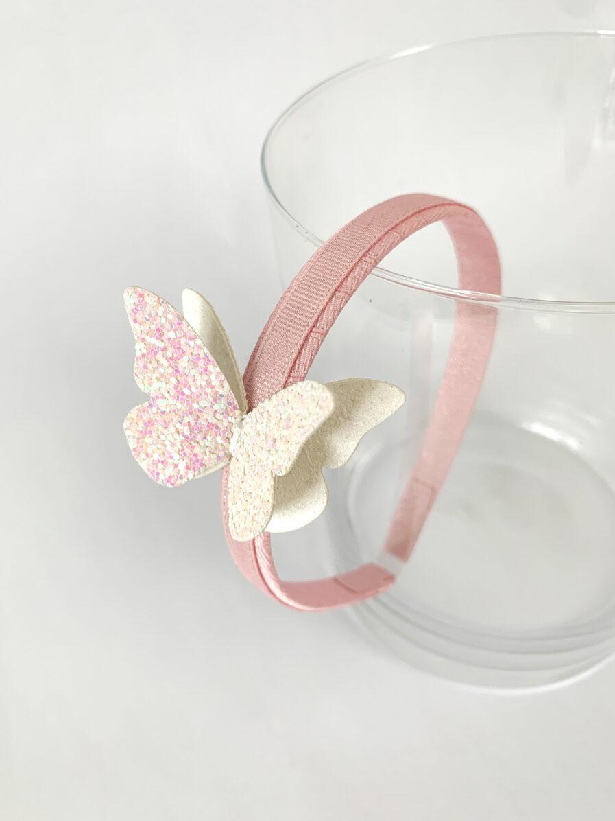 cerchietto-farfalla-rosa-farfalla-bianca-balmje